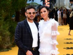 Ryan Thomas and Lucy Mecklenburgh revealed their 18-month-old son was found 'blue' in his cot (Ian West/PA)