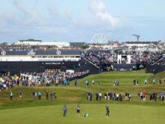 The Open will return to Royal Portrush in 2025 (David Davies/PA)