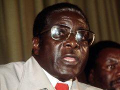 Former Zimbabwean president Robert Mugabe (PA)