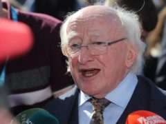 Irish President Michael D Higgins has defended his decision to decline an invitation to a church service marking Northern Ireland's centenary (Niall Carson/PA)