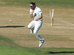 Liam Dawson finished with five for 45 on a dramatic day in Southampton (Mark Kerton/PA)