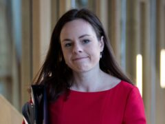 Finance Secretary Kate Forbes (Jane Barlow/PA)