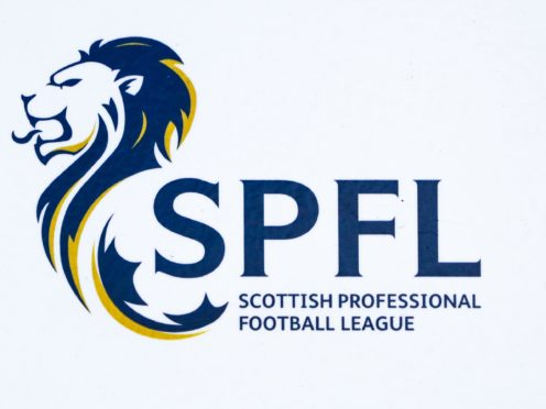 The SPFL has been hit with another racist incident (Andrew Milligan/PA)