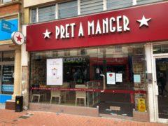 Pret a Manger has announced ambitious expansion plans (Steve Parsons/PA)