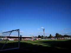 Boreham Wood recorded a goalless draw with Stockport (John Walton/PA)