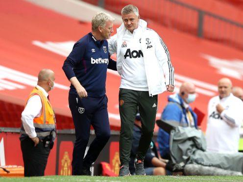 David Moyes faces Ole Gunnar Solskjaer on Sunday (Martin Rickett/PA)