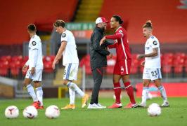 Liverpool manager Jurgen Klopp hopes Virgil Van Dijk's rotation will not be a long-term plan (Shaun Botterill/PA)