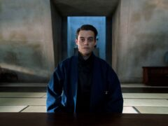 Rami Malek playing Safin in the new Bond film No Time To Die (Nicole Dove/PA)