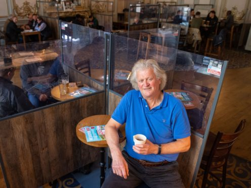 Founder and chairman of JD Wetherspoon, Tim Martin (Dominic Lipinski/PA)