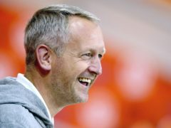 Blackpool manager Neil Critchley liked what he saw from his team on Teesside (Nigel French/PA)