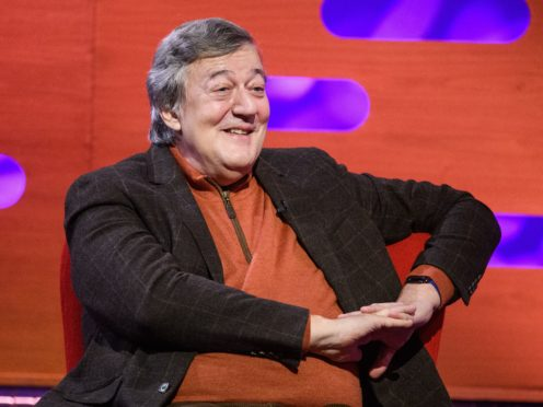 Stephen Fry is supporting the NHS Help Us, Help You campaign (Matt Crossick/PA)