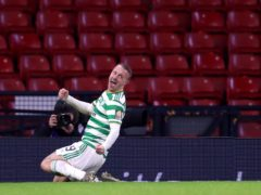 Leigh Griffiths could make his Dundee debut after joining on loan from Celtic (Andrew Milligan/PA Images)