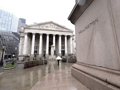 Bank of England base rate day failed to excite the markets (Ian West / PA)