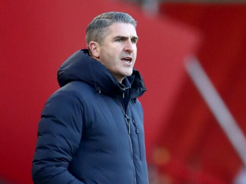 Plymouth manager Ryan Lowe hailed the spirit of his players (Tim Goode/PA)