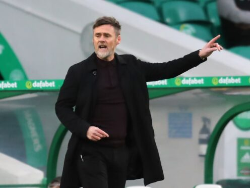 Graham Alexander's side ground out three points (Jane Barlow/PA)