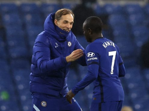 Chelsea manager Thomas Tuchel hailed N'Golo Kante following the team's win over Tottenham (Adrian Dennis/PA)