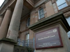 The man appeared at Dundee Sheriff Court (Jane Barlow/PA)