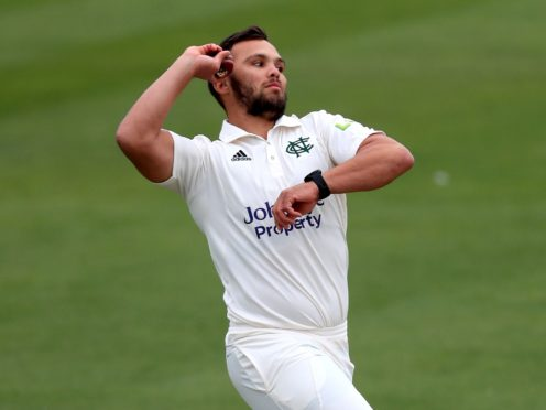 Nottinghamshire's Dane Paterson claimed four wickets (Mike Egerton/PA)