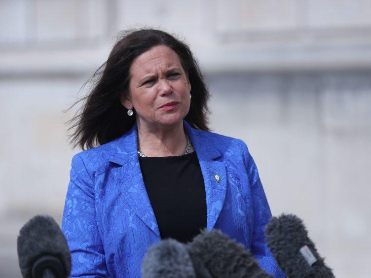 Sinn Fein leader Mary Lou McDonald (Niall Carson/PA)