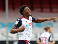 Oladapo Afolayan netted a first-half brace for Bolton (Gareth Fuller/PA)
