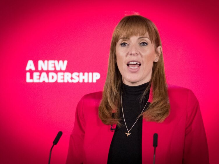 Labour's Deputy Leader Angela Rayner will open Labour's annual conference in Brighton on Saturday (Stefan Rousseau/PA)