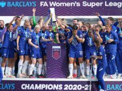 Chelsea retained the Women's Super League title in 2020-21 (John Walton/PA).