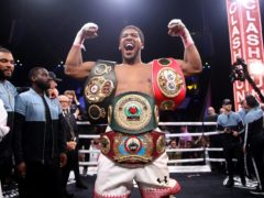 Anthony Joshua (pictured) says a fight with Tyson Fury will happen (Nick Potts/PA)