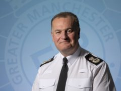 Greater Manchester Police Chief Constable Stephen Watson (GMP/PA)