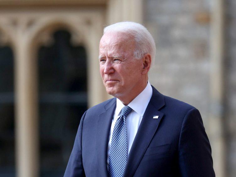 US President Joe Biden backed a huge stimulus package (Chris Jackson/PA)