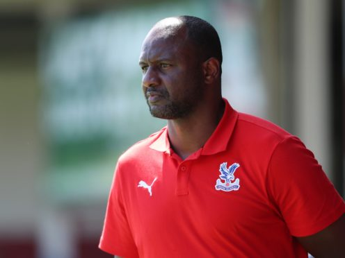 Crystal Palace manager Patrick Vieira held talks over a move to Tottenham at the end of his playing career (Morgan Harlow/PA)