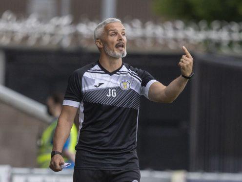 St Mirren's Jim Goodwin looking for first league win of season (Jeff Holmes/PA)