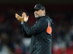 Liverpool manager Jurgen Klopp has full confidence in the depth of his squad (Peter Byrne/PA)