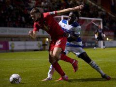 Aaron Drinan (left) opened the scoring for Leyton Orient (Jonathan Brady/PA).