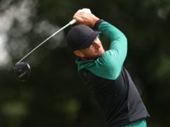 England's Laurie Canter set the halfway target in the BMW PGA Championship at Wentworth (Steven Paston/PA)
