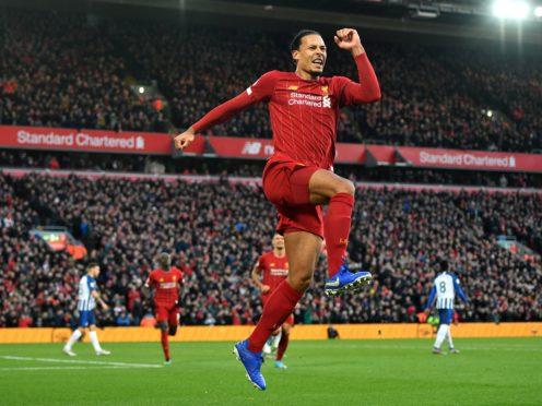 Liverpool's players think Virgil Van Dijk is Superman (Anthony Devlin/PA)