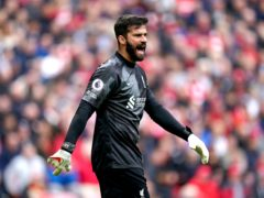 Alisson will be able to play for Liverpool (Mike Egerton/PA)