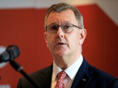Sir Jeffrey Donaldson (Peter Morrison/PA)