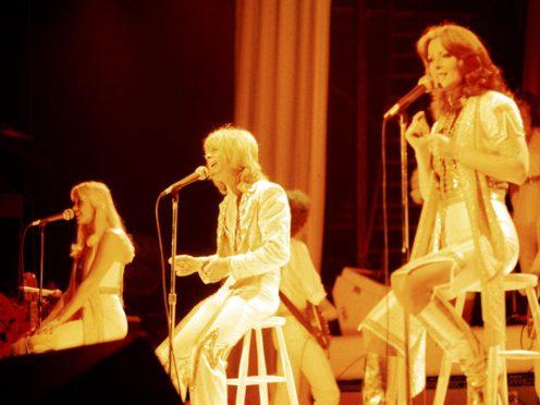 Swedish pop veterans Abba (PA)