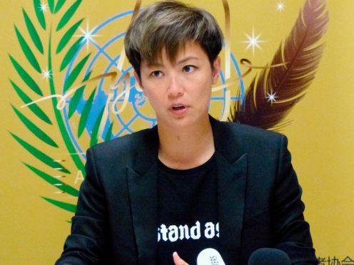 Hong Kong pop singer Denise Ho (Jamey Keaton/AP)