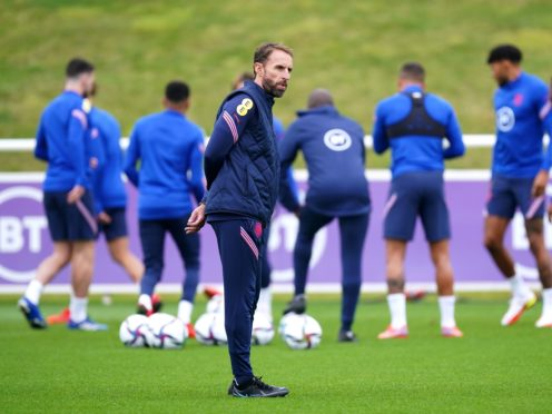 Gareth Southgate is planning to make changes (Mike Egerton/PA)