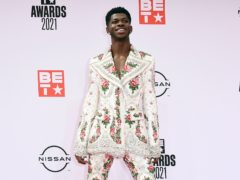 Lil Nas X shared a tongue-in-cheek pregnancy photoshoot to promote his debut album (Jordan Strauss/Invision/AP, File)