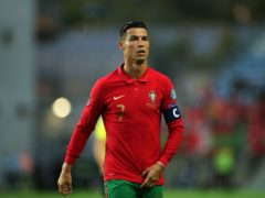 Portugal captain Cristiano Ronaldo will wear the number seven shirt again for Manchester United (Isabel Infantes/PA)