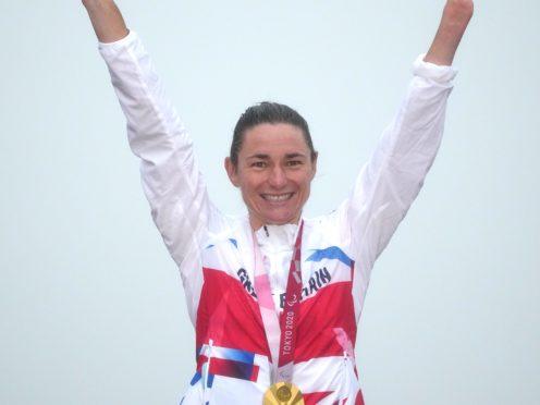Great Britain's Sarah Storey (Tim Goode/PA)