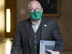 Patrick Harvie announced a new project involving the Joseph Rowntree Foundation (Jane Barlow/PA)