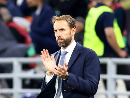 Gareth Southgate expects a rousing reception at Wembley (Attila Trenka/PA)