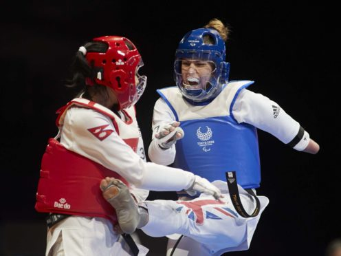 Beth Munro, right, won an historic silver for GB (Handout/PA)