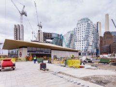 Battersea Power Station on the London Underground's Northern Line Extension (Mike Garnett/TfL/PA)