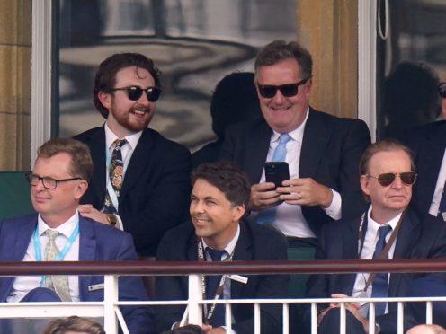 Piers Morgan and Kevin Lygo (Adam Davy/PA)