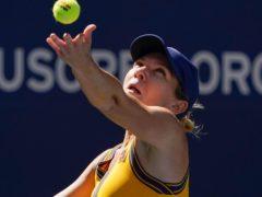 Simona Halep edged a close contest against Elena Rybakina (Elise Amendola/AP)