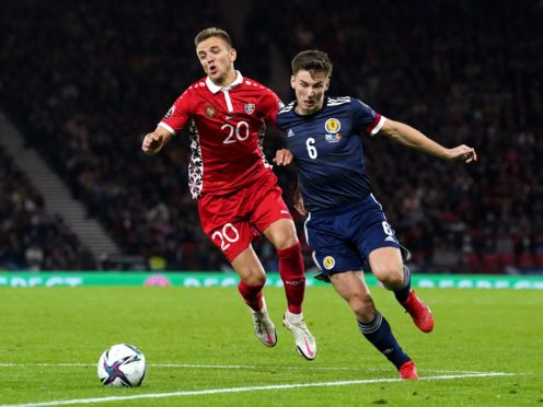Scotland beat Moldova with the only goal of the game (Andrew Milligan/PA)